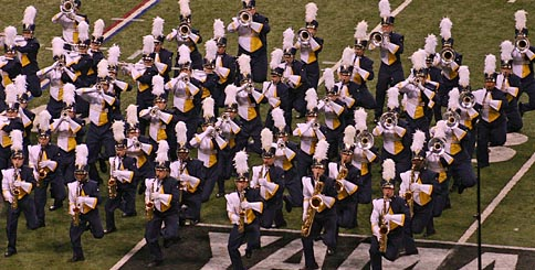 Significance in marching band